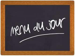 «MENU du JOUR» ***17.50€***